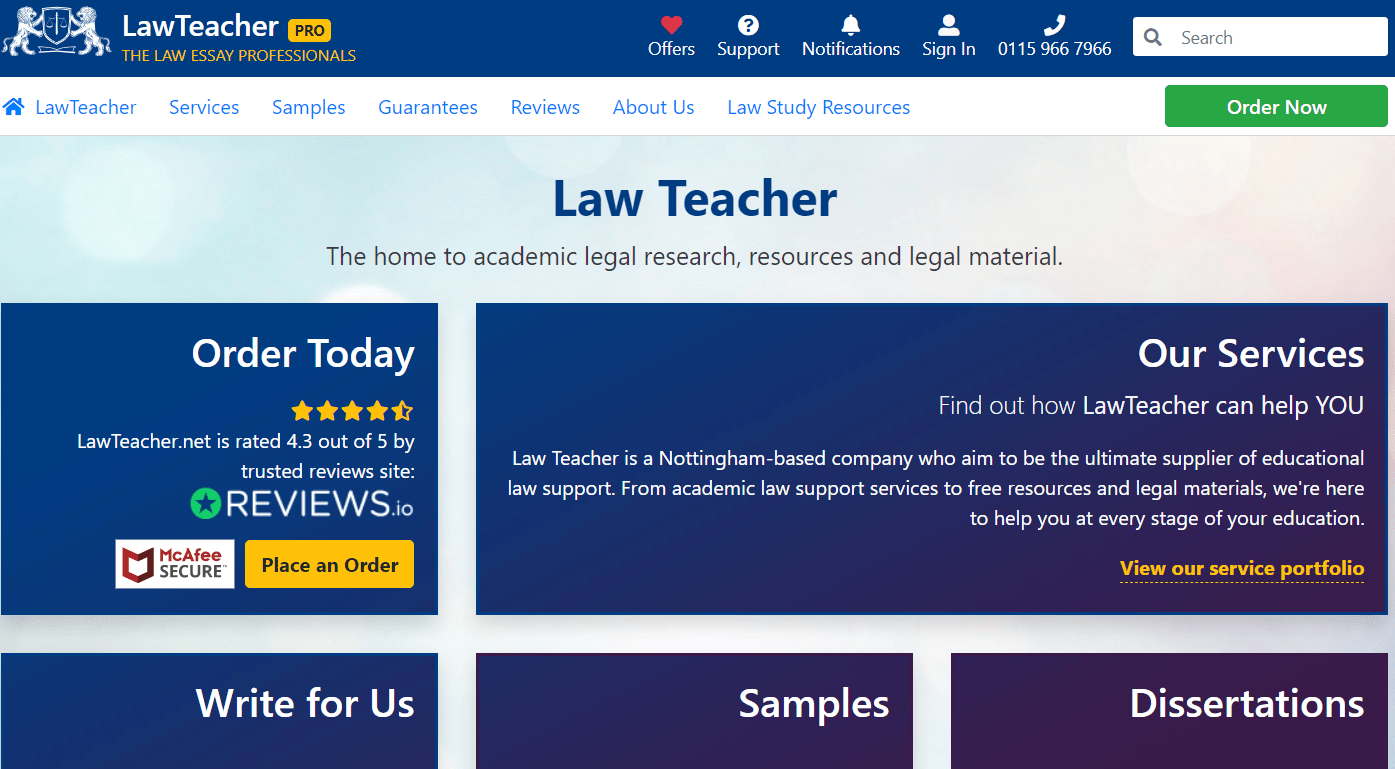 lawteacher reviews