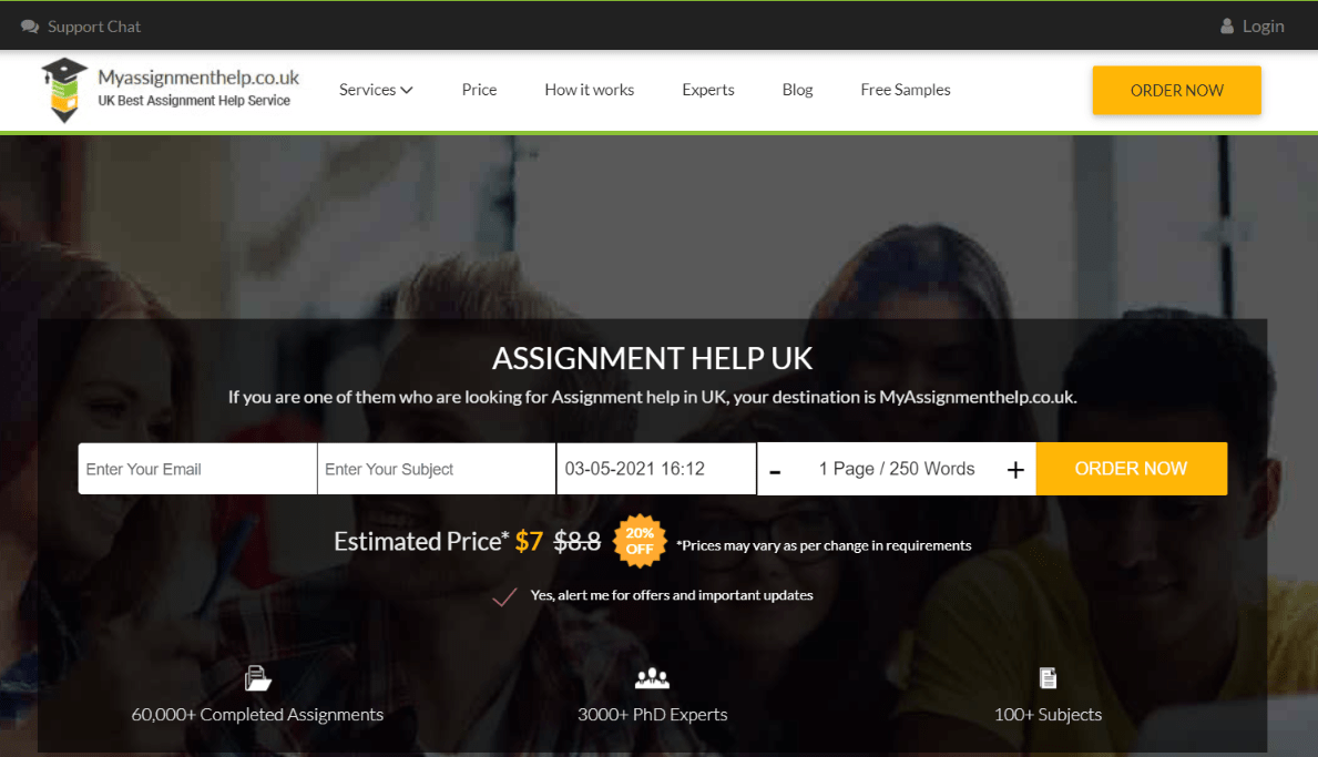 myassignmenthelp.co.uk reviews